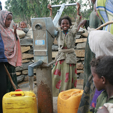A legacy gift of £637 could provide a water lifeline to a community