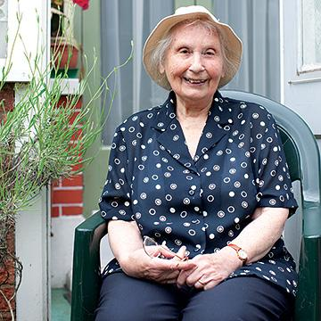 Ann is 81 and lives alone in her one-bedroom