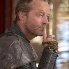 Iain Glen as Ser Jorah Mormont in Game of Thrones. Credit: Sky TV